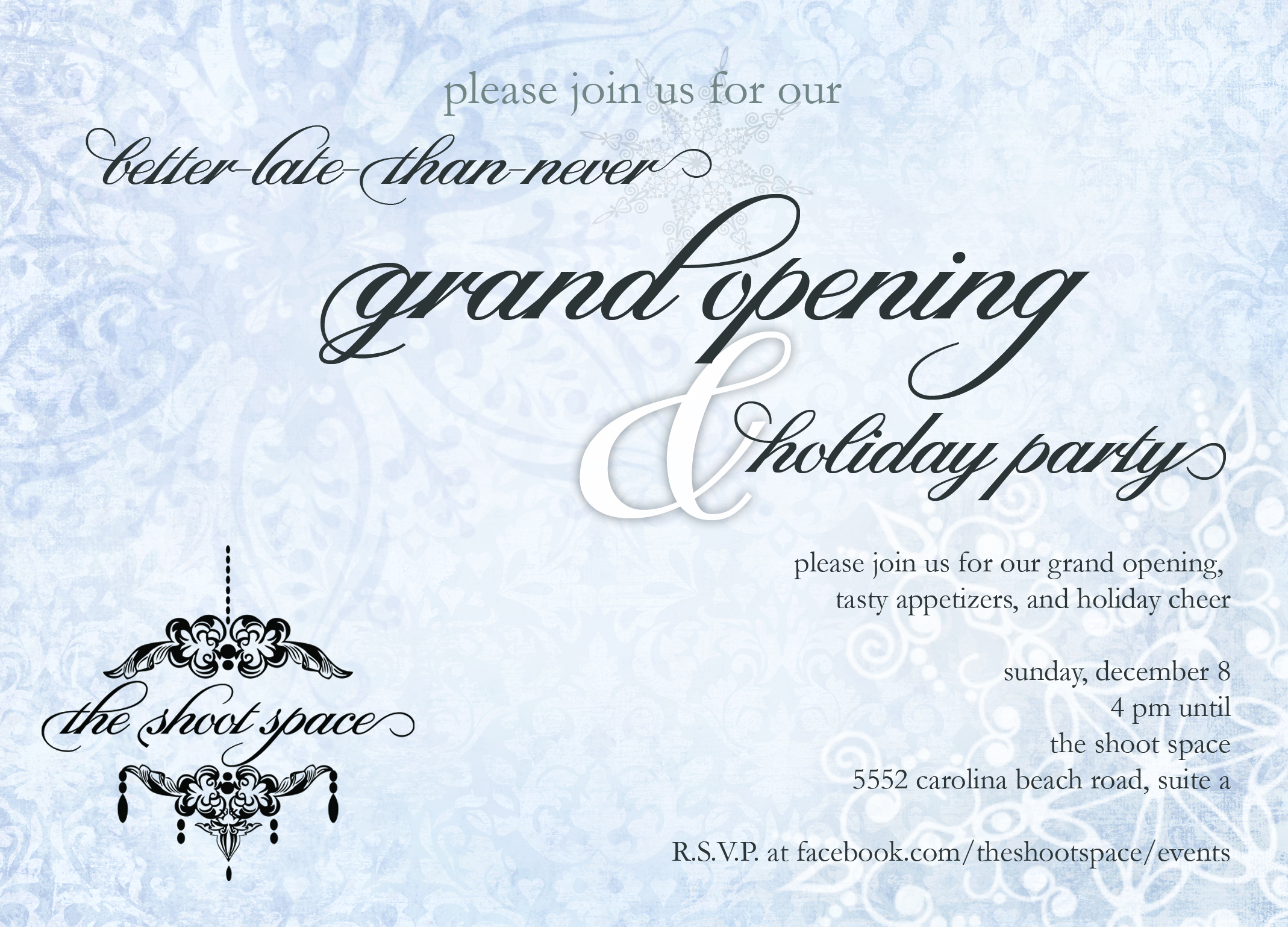 Grand Opening - Front