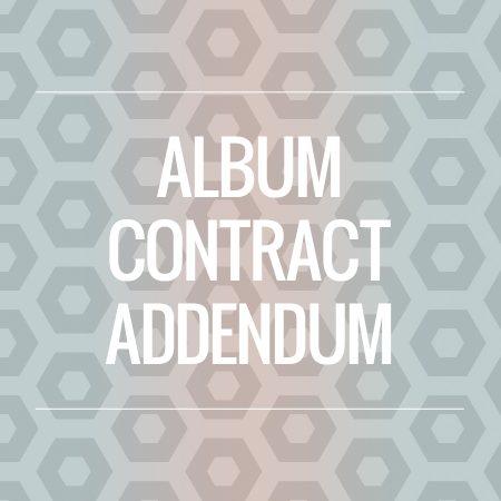 wedding album contract