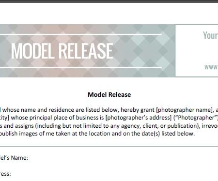 model release 1