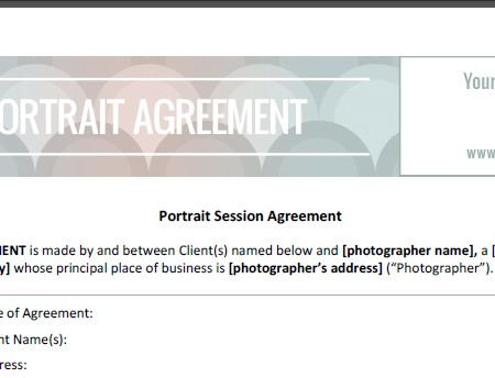 portrait contract 1