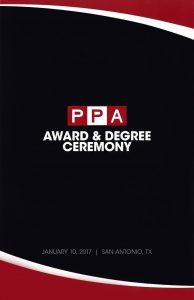 PPA Award & Degree Ceremony
